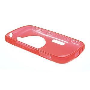 Červený s-line gélový kryt na Samsung Galaxy K Zoom C115 - 3