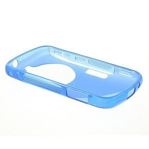 Modrý s-line gélový kryt na Samsung Galaxy K Zoom C115 - 3