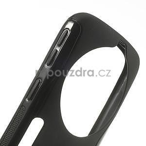 Čierny s-line gélový kryt pre Samsung Galaxy K Zoom C115 - 3