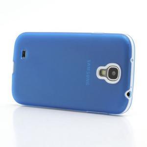 Gelové pouzdro 2v1 na Samsung Galaxy S4 - modré - 3