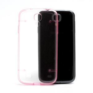 Obal pre mobil se svítícími hranami pre Samsung Galaxy S4 - ružové - 3