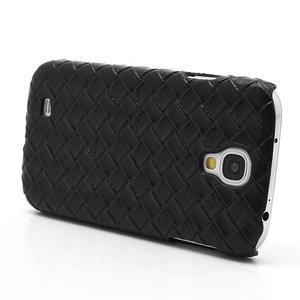 PU kožené pouzdro na Samsung Galaxy S4 - černé - 3