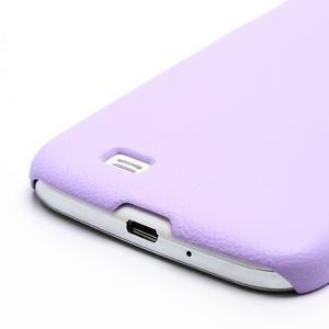 Plastové poudro pre Samsung Galaxy S4 - fialové - 3