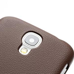 Plastové poudro pre Samsung Galaxy S4 - hnedé - 3