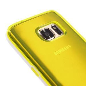 Dvoudílný obal na mobil Samsung Galaxy S7 - žlutý - 3
