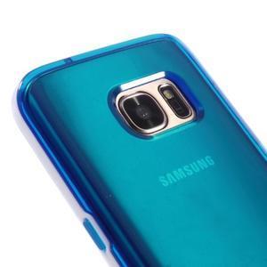 Dvoudílný obal na mobil Samsung Galaxy S7 - modrý - 3