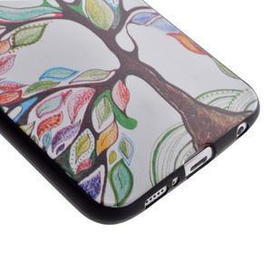 Jells gelový obal na Samsung Galaxy S7 - malovaný strom - 3