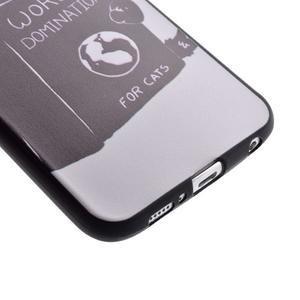 Jells gelový obal na Samsung Galaxy S7 - kočička - 3