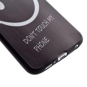 Jells gélový obal pre Samsung Galaxy S7 - nesahať - 3