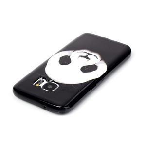 Sally gélový obal pre Samsung Galaxy S7 - panda - 3