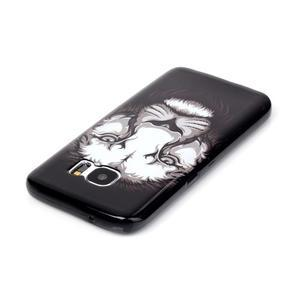 Sally gélový obal pre Samsung Galaxy S7 - lev - 3