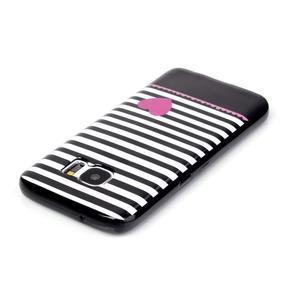Sally gelový obal na Samsung Galaxy S7 - srdce - 3