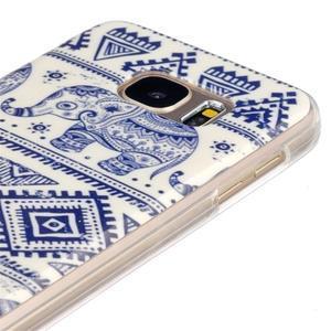 Gelový kryt pre mobil Samsung Galaxy S7 - sloni - 3