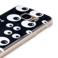 Gelový kryt na mobil Samsung Galaxy S7 - očička - 3/4