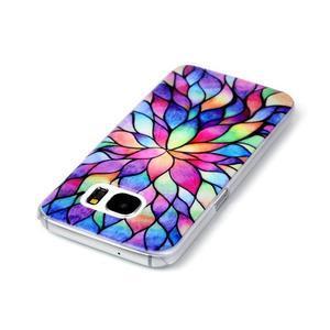 Plastový obal pre mobil Samsung Galaxy S7 - petals - 3