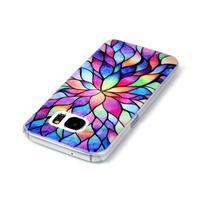 Plastový obal pre mobil Samsung Galaxy S7 - petals - 3/3