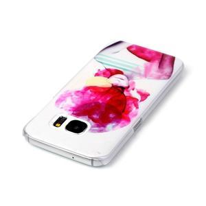 Plastový obal pre mobil Samsung Galaxy S7 - dívka - 3