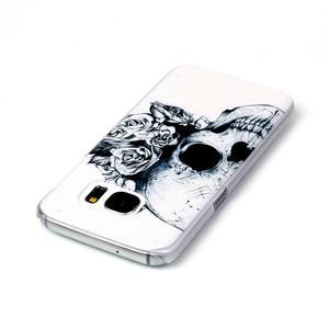 Plastový obal na mobil Samsung Galaxy S7 - lebka - 3