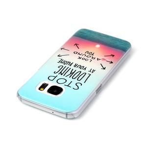 Plastový obal na mobil Samsung Galaxy S7 - dívej se kolem sebe - 3