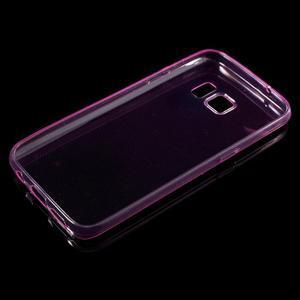 Ultratenký gélový obal pre mobil Samsung Galaxy S7 - ružový - 3