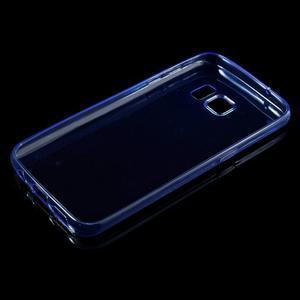 Ultratenký gélový obal pre mobil Samsung Galaxy S7 - modrý - 3