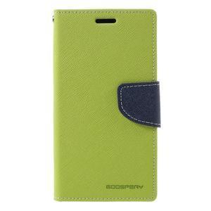 Goosper PU kožené puzdro pre Samsung Galaxy S7 - zelené - 3