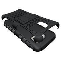 Outdoor odolný obal pre mobil Samsung Galaxy S7 - čierny - 3/5