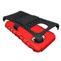 Outdoor odolný obal pre mobil Samsung Galaxy S7 - červený - 3/5
