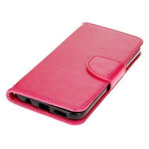 Stand peňaženkové puzdro pre Samsung Galaxy S7 - rose - 3