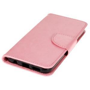 Stand peněženkové pouzdro na Samsung Galaxy S7 - růžové - 3