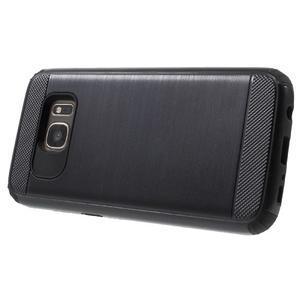 Dvoudílný odolný kryt na Samsung Galaxy S7 - černý - 3