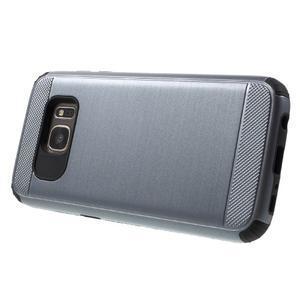 Dvoudílný odolný kryt na Samsung Galaxy S7 - šedý - 3