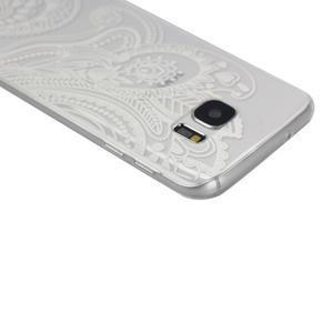Pictu gelový obal na mobil Samsung Galaxy S7 - malované květiny - 3