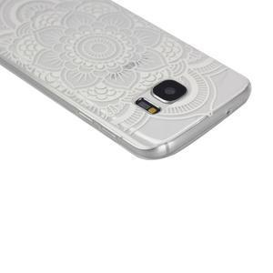 Pictu gelový obal na mobil Samsung Galaxy S7 - květina - 3