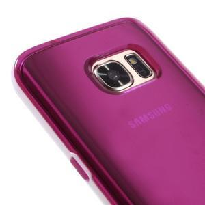 Dvoudílný obal na mobil Samsung Galaxy S7 - rose - 3