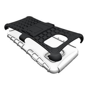 Odolný outdoor kryt na Samsung Galaxy S7 edge - bílý - 3