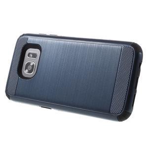 Odolný dvoudílný obal na Samsung Galaxy S7 edge - tmavěmodrý - 3