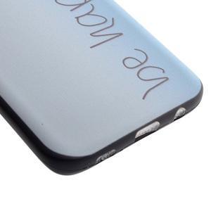 Backy gelový obal na Samsung Galaxy S7 edge - be happy - 3