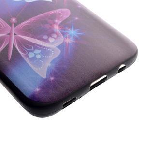 Backy gélový obal pre Samsung Galaxy S7 edge - čarovné motýle - 3