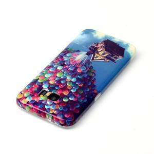 Softy gelový obal na Samsung Galaxy S7 edge - nafukovací baónky - 3