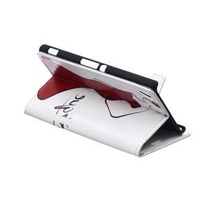 peňaženkové puzdro pre Sony Xperia M4 Aqua - elegance - 3