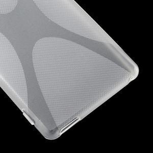 transparentné gélový obal pre Sony Xperia M4 Aqua - 3