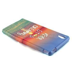 Gelový kryt na Sony Xperia M4 Aqua - snění - 3