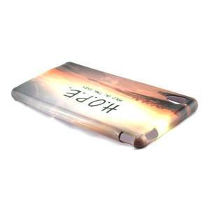 Gelový kryt na Sony Xperia M4 Aqua - H.O.P.E. - 3