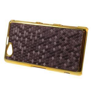 Elegantný obal pre mobil Sony Xperia Z1 Compact - fialový - 3