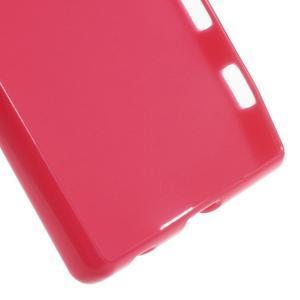 Gloss lesklý gélový obal pre Sony Xperia Z5 - rose - 3