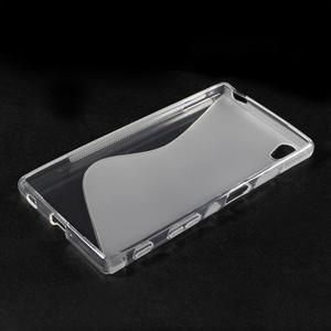 Sline gélový kryt pre mobil Sony Xperia Z5 - transparentné - 3