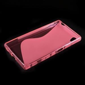 Sline gélový kryt pre mobil Sony Xperia Z5 - rose - 3