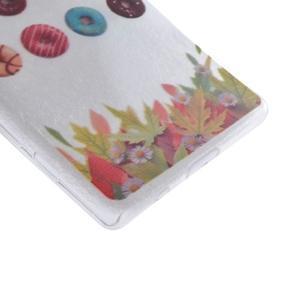 Gélový obal pre mobil Sony Xperia Z5 - šišky - 3