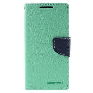 Mercur Peňaženkové puzdro pre Sony Xperia Z5 - cyan - 3
